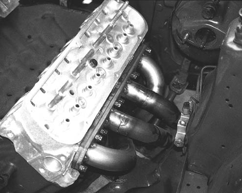 CPR - Custom Headers for Ford Mustang and Engine Swap